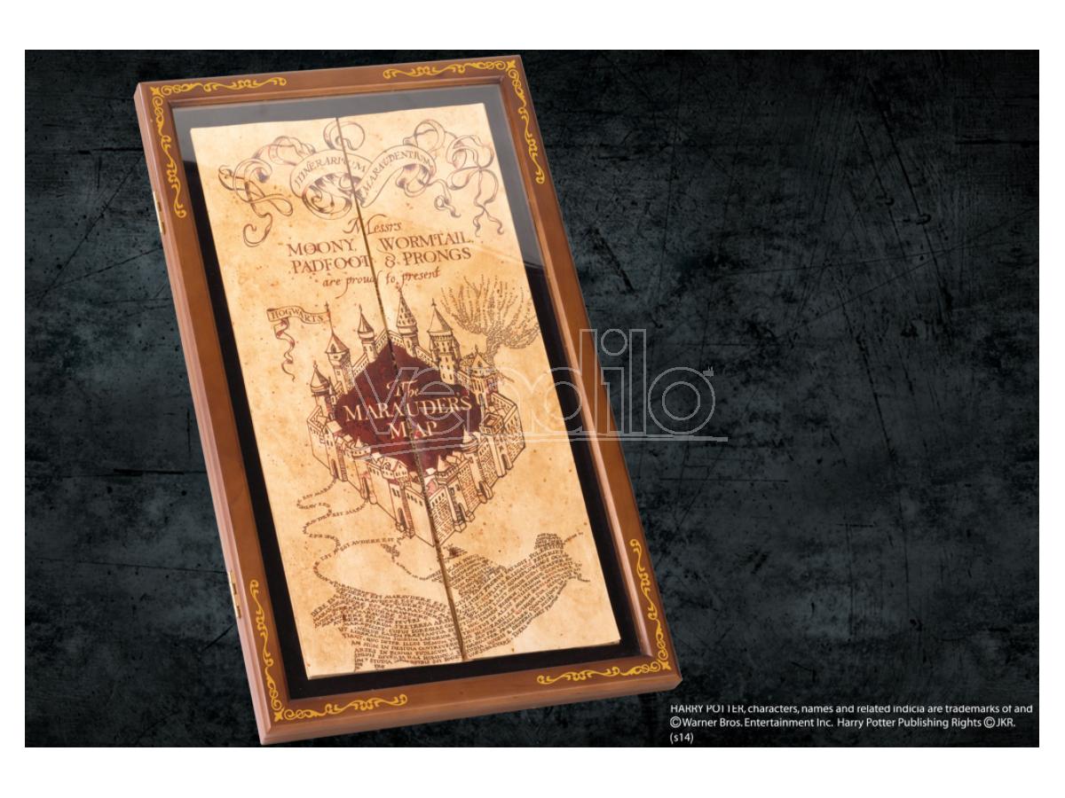 Harry Potter Espositore Mappa del Malandrino Noble Collection