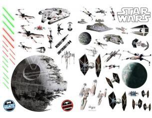 Star Wars - Adesivi - 100x70cm - Battleships (blister)