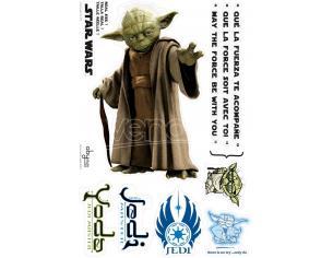 Star Wars - Adesivi - Scale 1 - Yoda (blister)