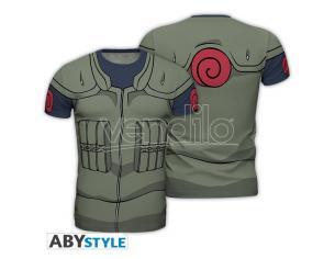 """Naruto Shippuden - Replica T-shirt """"kakashi Costume"""" Uomo Medium"""