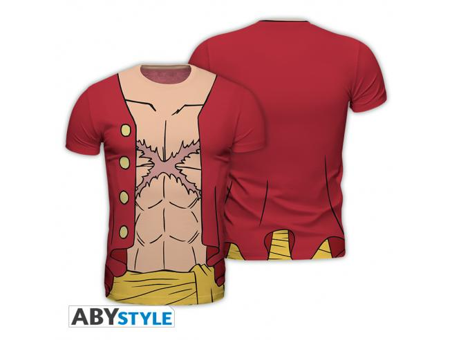 "One Piece - Replica T-shirt ""luffy New World"" Uomo Small"