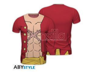 "One Piece - Replica T-shirt ""luffy New World"" Uomo Extra Large"