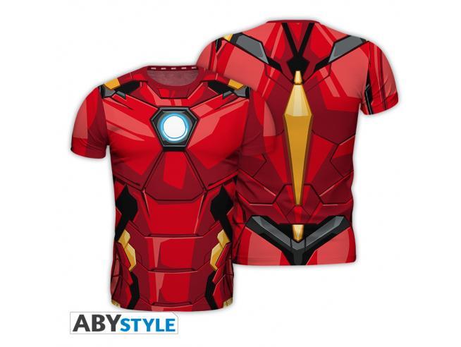 """Marvel - Replica T-shirt """"iron Man"""" Uomo Medium"""