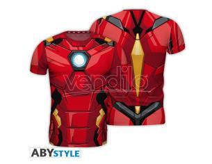 "Marvel - Replica T-shirt ""iron Man"" Uomo Large"
