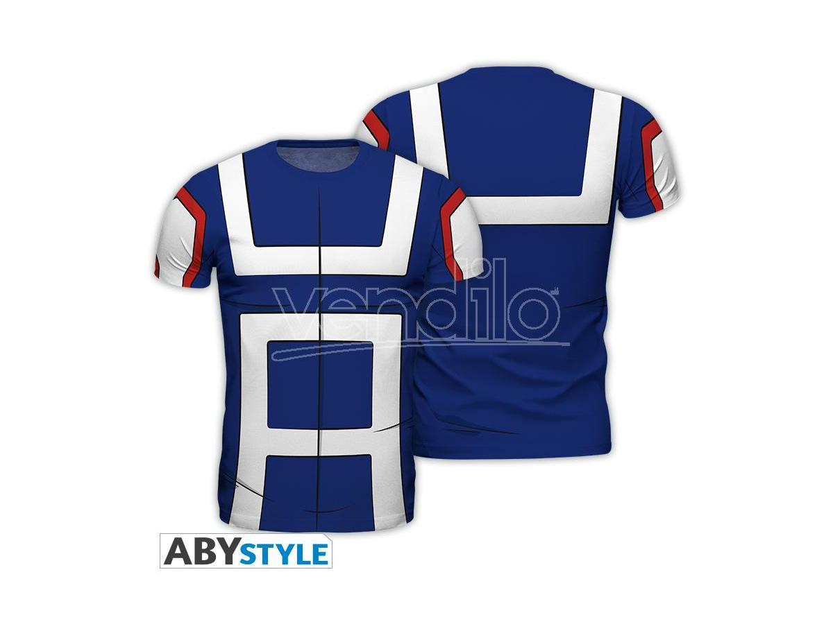 "My Hero Academia - Replica Tshirt""student"" Uomo Large"