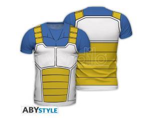 "Dragon Ball - Replica T-shirt ""vegeta"" Uomo Large"