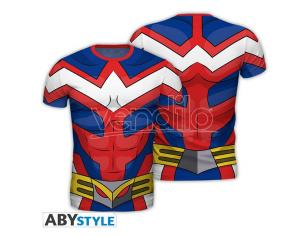 "My Hero Academia - Replica T-shirt""all Might"" Uomo Medium"