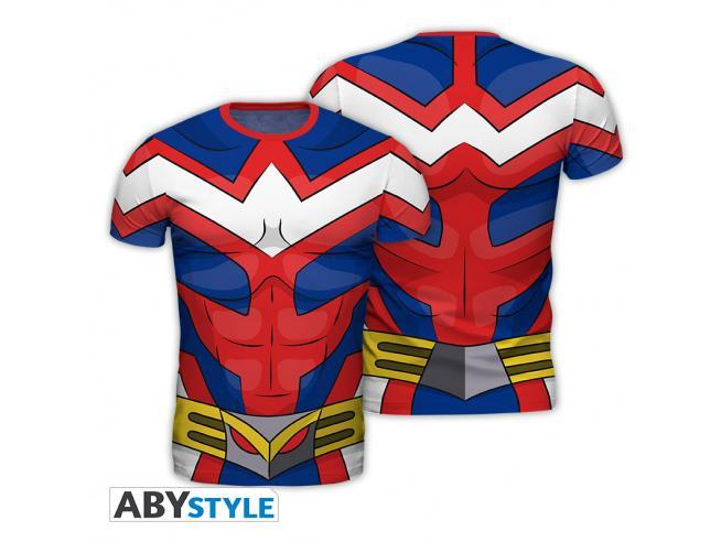 "My Hero Academia - Replica T-shirt""all Might"" Uomo Extra Large"