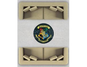 Harry Potter Tappeto da Interno con Stemma Hogwarts 100 x 100 cm Groovy