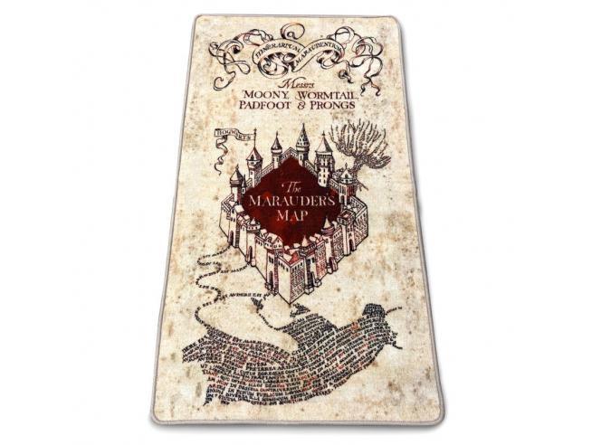Harry Potter Tappeto da Interno Mappa Del Malandrino Groovy
