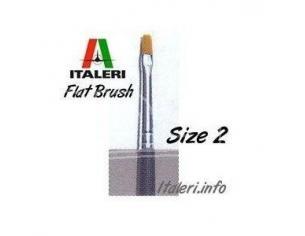 Italeri IT51225 PENNELLO SINTETICO PIATTO 2 Pz.6 Modellino
