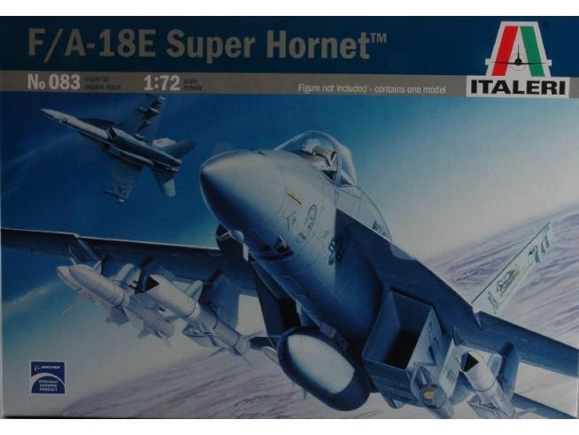 Italeri IT0083 F/A 18 E SUPER HORNET KIT 1:72 Modellino