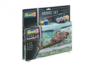 Revell RV64956 ELICOTTERO BELL AH-1G COBRA MODEL SET KIT 1:72 Modellino