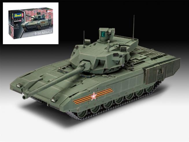 Revell RV03274 RUSSIAN MAIN BATTLE TANK T-14 ARMATA KIT 1:35 Modellino