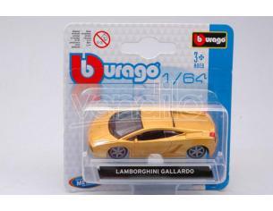 BBURAGO BU59004Y LAMBORGHINI GALLARDO YELLOW 1:64 Modellino