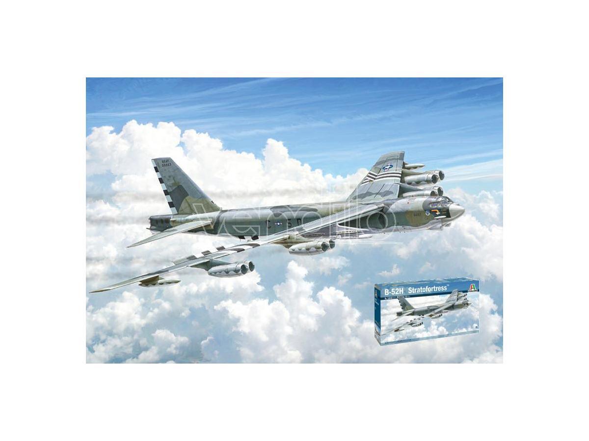 ITALERI IT1442 B-52H STRATOFORTRESS KIT 1:72 Modellino