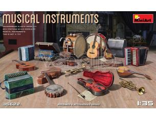 MINIART MIN35622 MUSICAL INSTRUMENTS KIT 1:35 Modellino