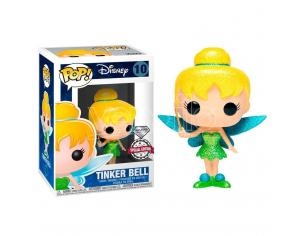 Pop Figura Disney Tinker Bell Glitter Esclusiva Funko