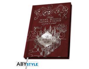 Harry Potter Taccuino Agenda A5 Mappa Del Malandrino 21 X 15 Cm Abystyle