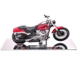 Maisto Mi16945 Harley Davidson 2016 Breakout Metallolic Red 1:18 Modellino