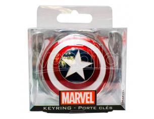 Marvel Captain America Shield Metallo Portachiavi Semic Studio