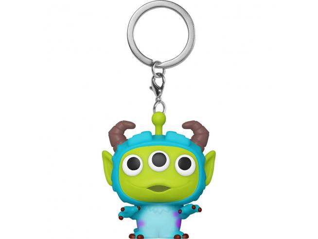 Pocket Pop Portachiavi Disney Pixar Alien Remix Sulley Funko