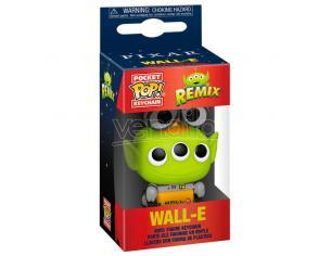 Pocket Pop Portachiavi Disney Pixar Alien Remix Wall-e Funko