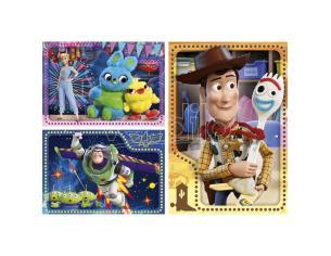 Disney Toy Story 4 Maxi Puzzle 3x48 Pezzi Clementoni