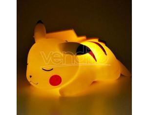 Pokemon Lampada LED 3D Pikachu Addormentato 25 cm Teknofun