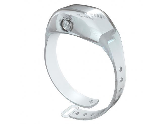 Transparent Adjustable Gel Dispenser Adulto Braccialetto Squeezyband