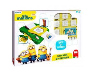Minions Sticker Dispenser + 7 Stampini Multiprint