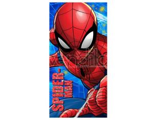 Marvel Spiderman Microfibra Telo Mare Asciugamano  Marvel