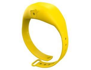 Yellow Adjustable Gel Dispenser Children Braccialetto Squeezyband