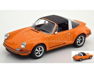 Kk Scale Kkdc180472 Singer 911 Targa Arancione 1:18 Modellino