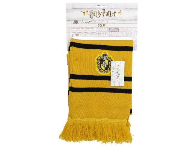 Harry Potter Sciarpa Premium Casa di Tassorosso Taglia Unica