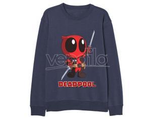 Marvel Deadpool Adulto Felpa Shirt Marvel