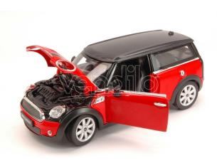 Ixo model RAT37400R MINI COOPER CLUBMAN 2007 RED/BLACK 1:24 Modellino