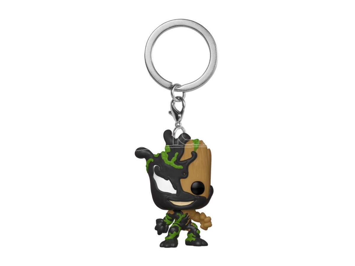Pocket Portachiavi Funko Pop Marvel Venom Groot