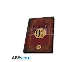 Harry Potter Taccuino Da Tasca Agenda A5 Binario 9 3/4 21 X 15 Cm Abystyle