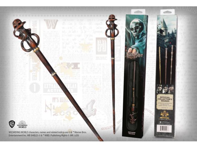 Harry Potter Bacchetta Magica dei Mangiamorte Swirl in Blister Noble Collection