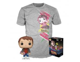 Ritorno al Futuro Set Funko POP Vinile Figura Marty & T-Shirt