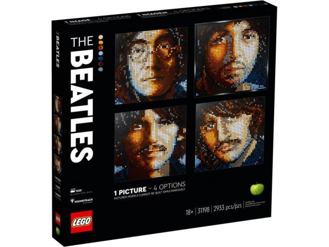 LEGO ART 31198 - THE BEATLES SCATOLA ROVINATA