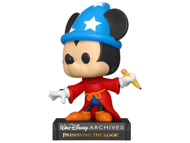 Mickey Mouse Disney Funko POP 50th Anniversario Vinile Figura Topolino Stregone 9 cm
