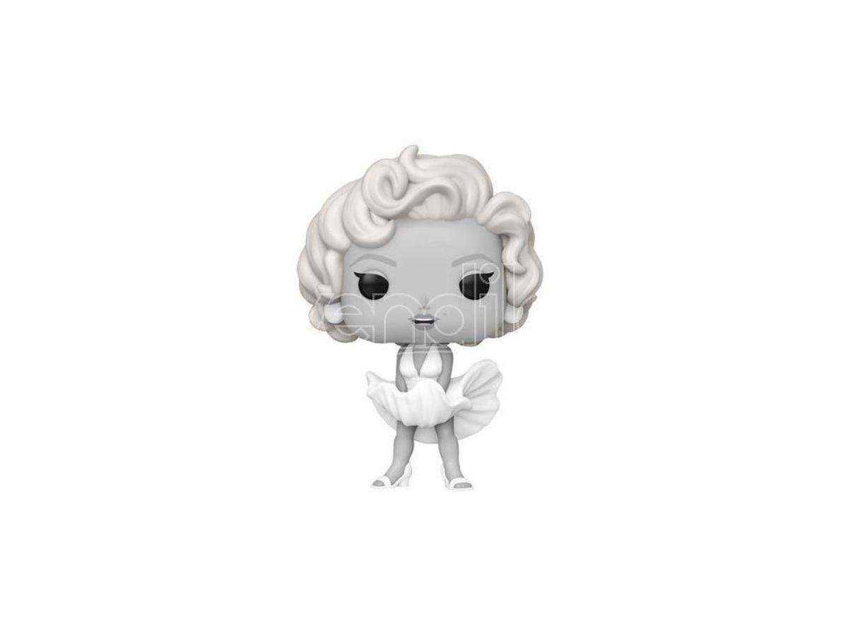 Marilyn Monroe Funko POP Vinile Figura Marilyn Monroe Bianco e Nero Esclusiva 9 cm