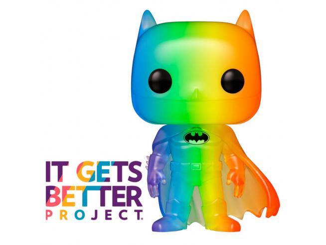 Pride 2020 Funko POP Super Eroi Vinile Figura DC Batman 9 cm