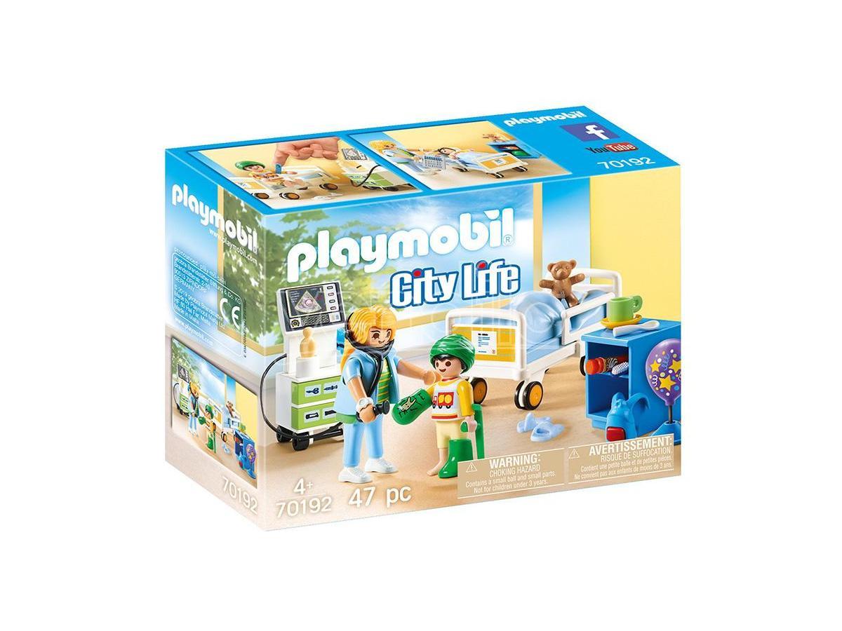 PLAYMOBIL REPARTO OSPEDALE BAMBINI CITY LIFE - COSTRUZIONI