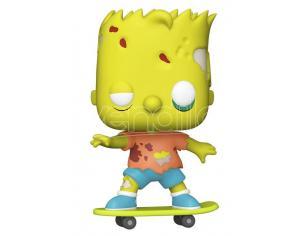 The Simpsons Funko POP Animazione Vinile Figura Bart Zombie 9 cm
