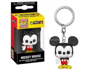 Mickey Mouse Portachiavi Funko POP Vinile Figura Topolino 90th Anniversario 4cm