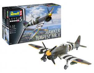 REVELL RV03851 HAWKER TEMPEST MK.V KIT 1:32 Modellino