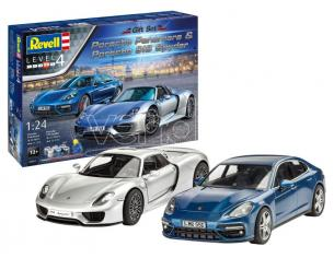 Revell Rv05681 Porsche Set Regalo Set Kit 1:24 Modellino